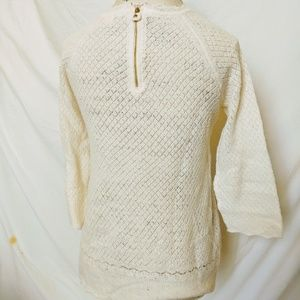 Anthropologie Sweaters - Anthropologie Moth Pointelle Wool Sweater